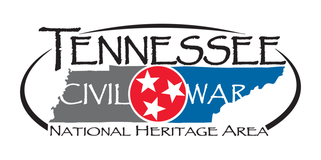 tennessee civil war national heritage area logo, black text